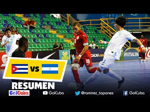 Resumen y Goles | CUBA vs NICARAGUA | Premundial de Futsal de CONCACAF
