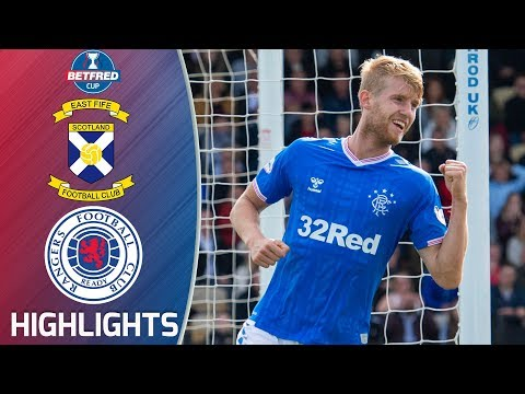 East Fife 0-3 Rangers | Helander Nets in Dream Debut! | Betfred Cup Extended Highlights | SPFL