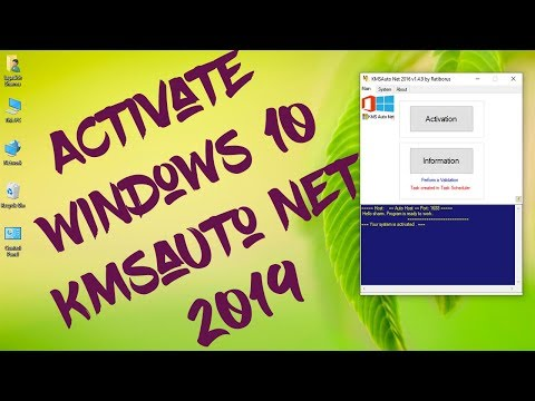 How To Activate Windows 10/8/7 Using KMS Auto Net Activator - 2019 Latest Tutorial Video By New Tech