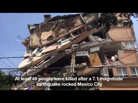 'Awful' earthquake shakes Mexico City
