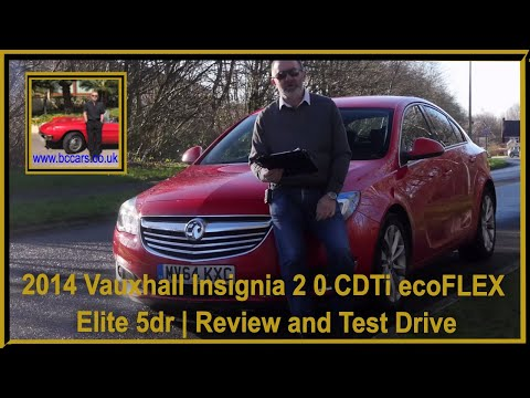 Review and Virtual Video Test Drive In Our 2014 Vauxhall Insignia 2 0 CDTi ecoFLEX Elite 5dr MV64KXC