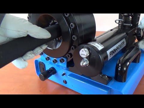 Manually operated hydraulic crimping machine P16HP