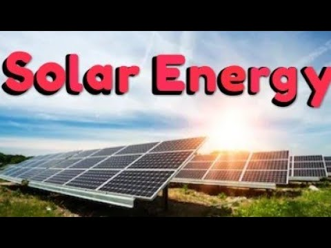 Solar Energy-General Science