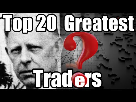 Top 20 Greatest Traders of All Time I 1080