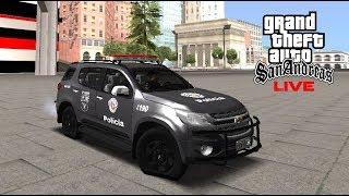LIVE   GTA MTA - PATRULHA DE ROTINA -  BAEP NAS RUAS
