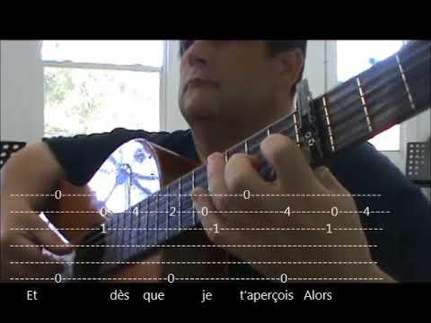 LA VIE EN ROSE  GUITAR FRANCE...GUITAR TABS  AND LYRICS LEVEL 2