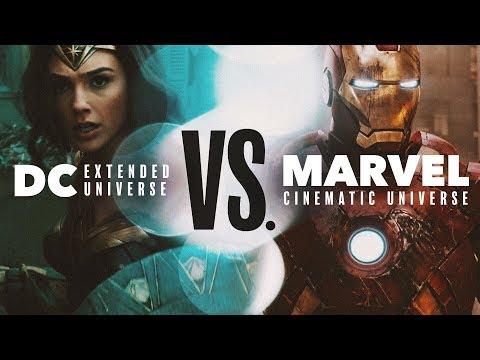 DC Extended Universe vs. Marvel Cinematic Universe