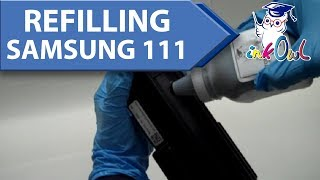 How to Refill SAMSUNG MLT-D111S (111S) Toner Cartridges for M2020, M2070