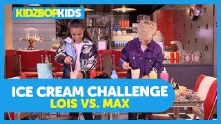 The Ice Cream Challenge with Max & Lois from The KIDZ BOP Kids