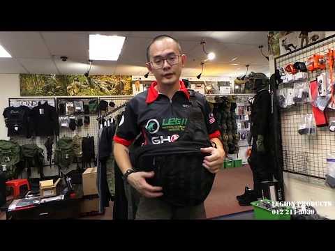 Danaper STEALTH MP5K concealed carry sling bag