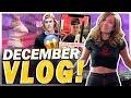 My FAN Looks Like Justin Bieber 😱 + First Time Skating! Pokimane December Vlog!