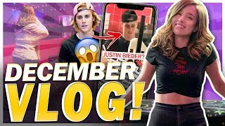 My FAN Looks Like Justin Bieber 😱 + First Time Skating! Pokimane December Vlog!