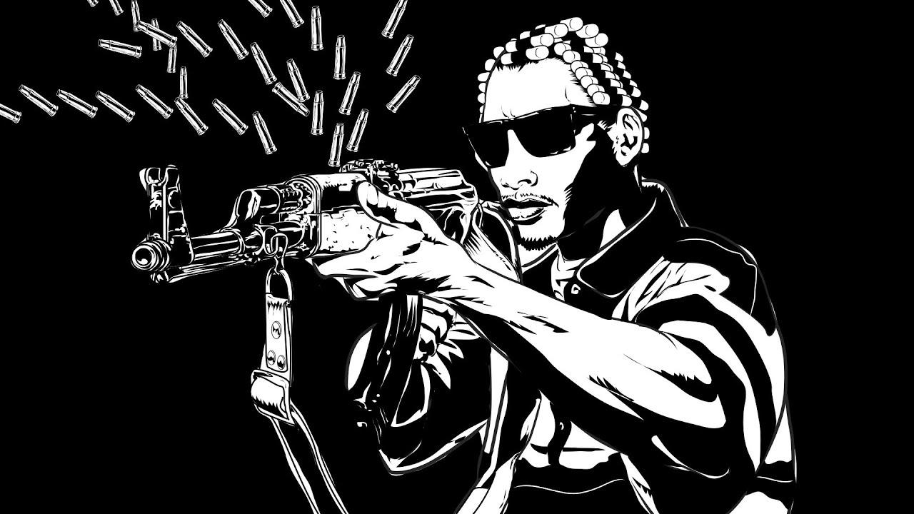 MC REN- Eazy-E of NWA shooting up a car: Trailer : 2015 # ...