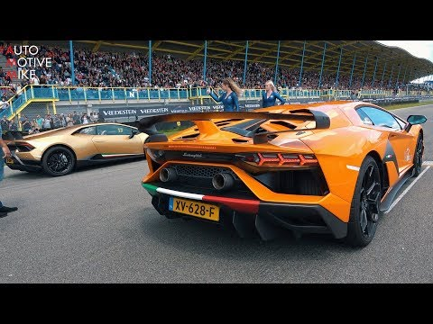 Lamborghini Aventador SVJ DRAG RACING vs Huracan Performante!