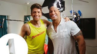 Can Greg James finally get one-on-one with his hero, Dwayne Johnson - The Rock?