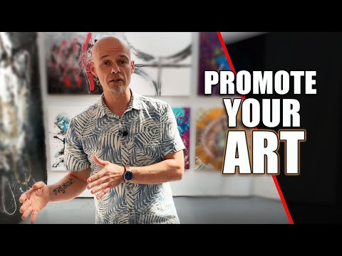 PROMOTING YOUR ART!! Here's my Top 10 tips