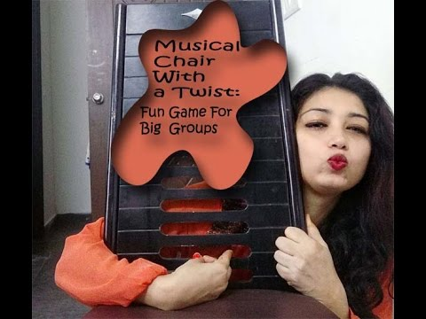 Musical Chair With a Twist: Fun Game For Big Groups