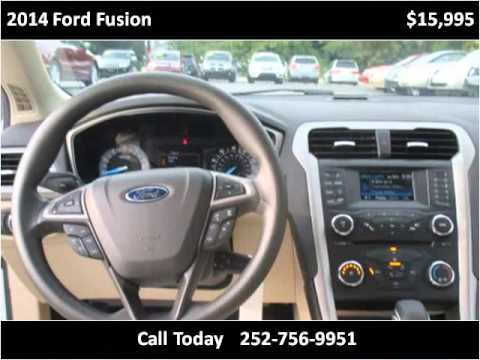 2014 ford fusion used cars greenville nc youtube. Black Bedroom Furniture Sets. Home Design Ideas