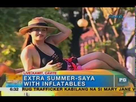 Extra fun this summer with inflatables - Unang Hirit - 동영상
