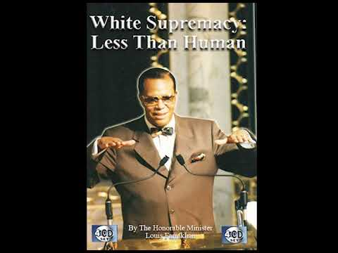 White Supremacy: Less Than Human