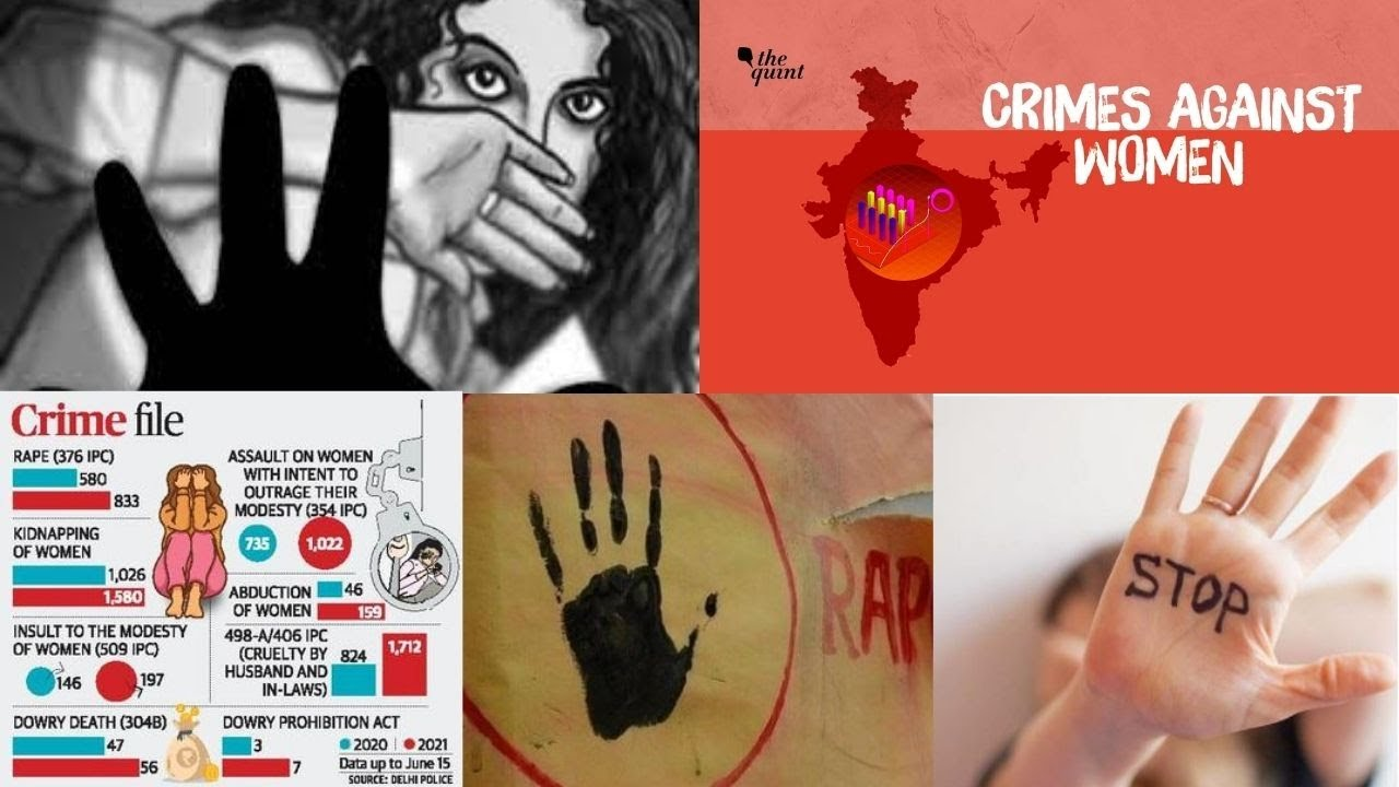 Crimes against women down, but record overall rise in cases