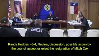 Lone Star, TX City Council Meltdown On Video