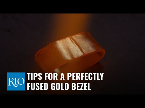 Tips For A Perfectly Fused Silver Bezel