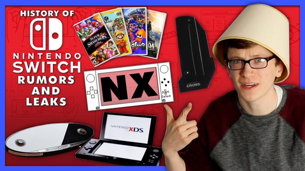 Download History of Nintendo Switch (NX) Rumors and Leaks - Scott The Woz
