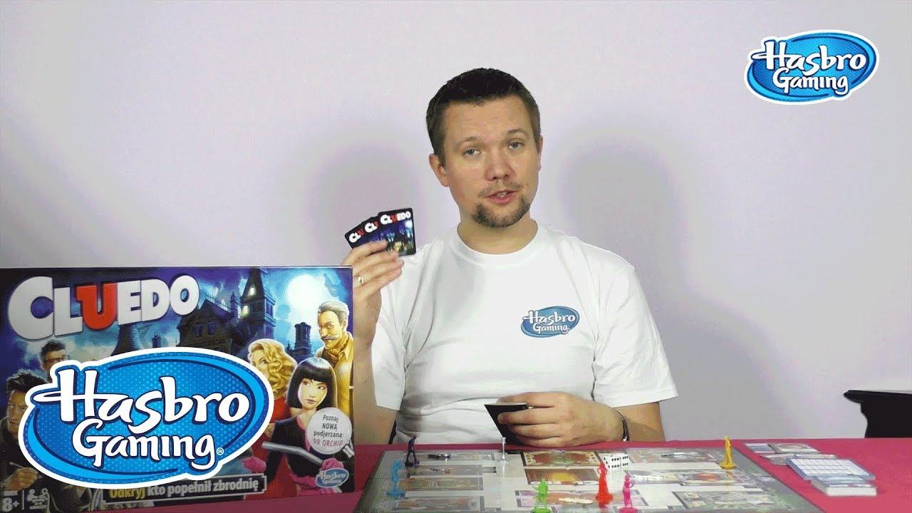 Gry Hasbro Polska - Jak grać w Cluedo