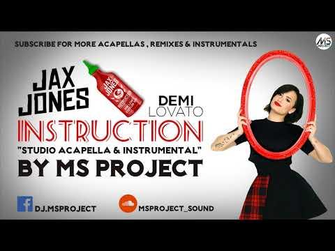 Jax Jones - Instruction (Studio Acapella - Vocals Only) ft. Demi Lovato, Stefflon Don