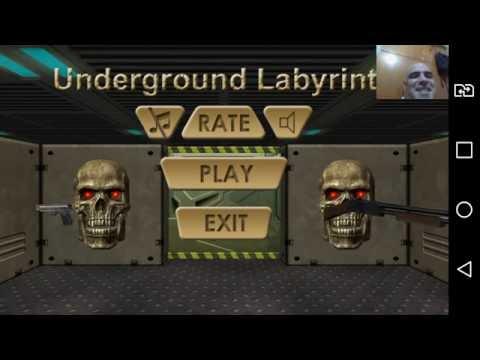 UNDERGROUND LABYRINTH 3D - PHABLET - LG G4 STYLUS HDTV