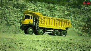 MAN 8x8 50 ton w kopalni HEAVY DUTY wywrotka tipper