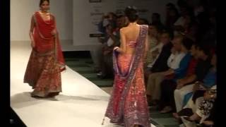Satya Paul Bridal Collection at Kolkata Fashion Week- Part 1