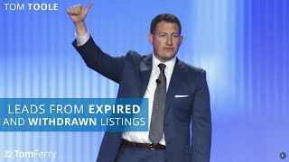 Half a Million Dollars GCI from Expired and Withdrawn Listings in Real Estate | Tom Toole