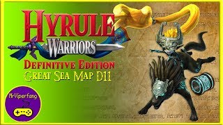 Hyrule Warriors (Switch): Great Sea Map D11 - Midna