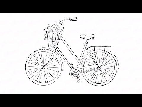 Как пошагово нарисовать карандашом велосипед: инструкция от EvriKak
