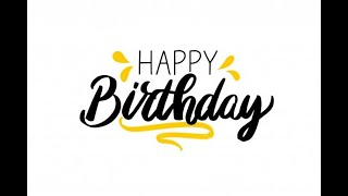Happy Birthday (Traditional Version)