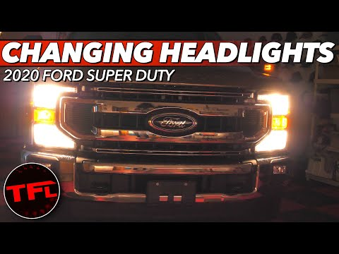 Here's How To Change or Replace Your Halogen Headlights on the Ford F-250!