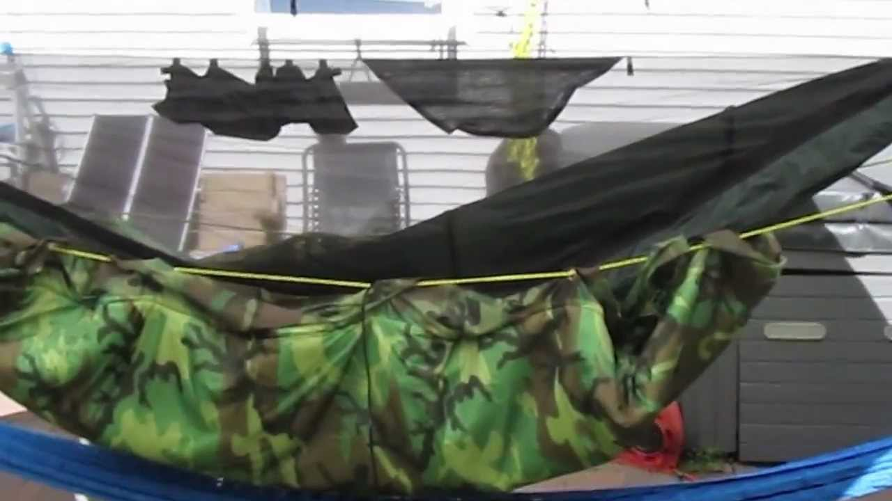 Underquilt For My Hennessy Hammock Youtube
