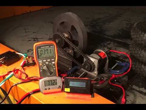 MagMotor (4 Inch) At 36V With Victor BB Limit Set To 250 Amps