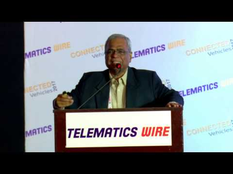 Dr. Ashok Jhunjhunwala, Professor, IIT Madras - Connected Vehicles 2017, Chennai