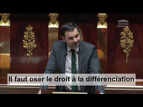 Grand débat national : Intervention sur l'organisation de l'Etat et des services