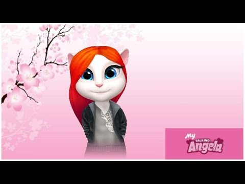 My Talking Angela That's Falling in Love Gameplay Makeover