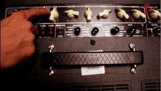 VOX Valvetronix VT 120 Plus Demo by Arjun Dhanraj