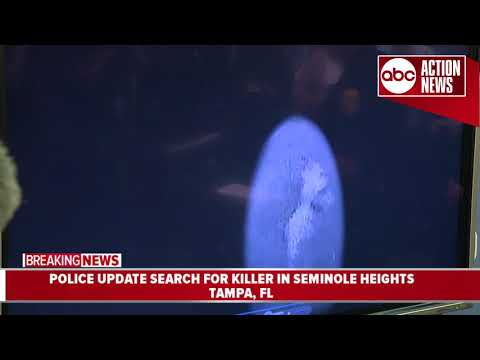 Tampa police release third video of Seminole Heights Killer morning of fourth murder