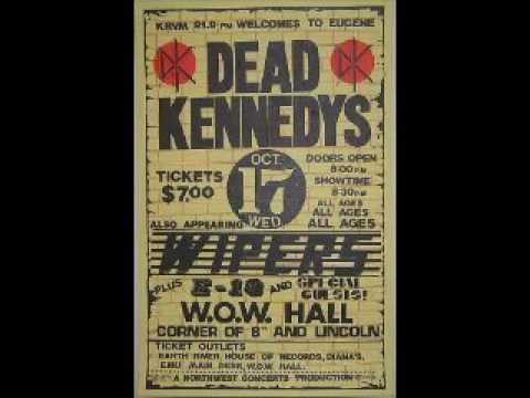 Dead Kennedys - Live @ W.O.W. Hall, Eugene, OR, 10/17/84