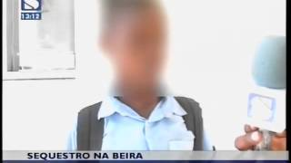 Funcionário bancário detido por tentativa de sequestro na Beira