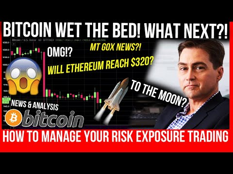 Bitcoin Price CRASH! Ethereum Analysis! MT Gox Settlement!? Risk Management Tutorial! Bitcoin TA