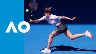 Madison Keys v Elina Svitolina match highlights (4R)   Australian Open 2019