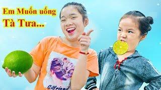 Này Chị Trang Em Muốn Uống Tà Tữa - Trang Vlog